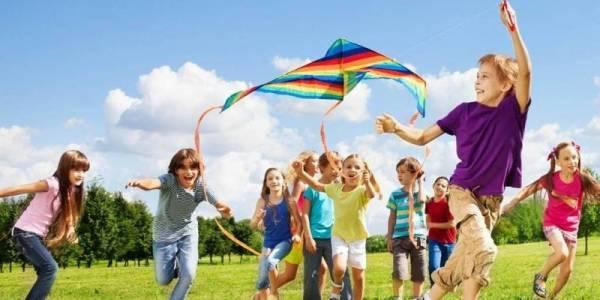 Фотоотчет из летнего городского лагеря для детей 7-12 лет